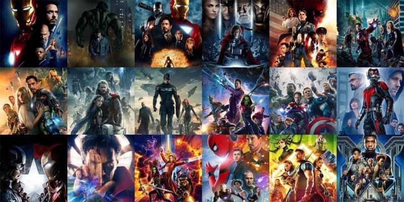 الترتيب الزمني لأفلام مارفل Marvel movies