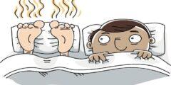 رائحة القدمين الكريهة.. أسباب وعلاج