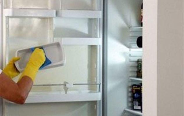 إزالة الروائح الكريهة من الثلاجة